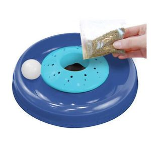 Bergan Interactive Cat NIP Catnip Cyclone Exercise Ball Cat Pet Toy Ber 88254