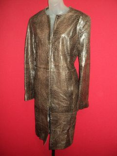 Soft Leather Coat