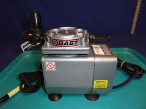 Gast DOA P101 AA Air Compressor Pump 115V 4 2A 20 PSI 1 8 HP V21