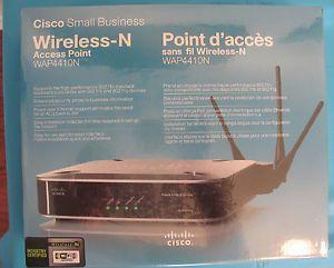 Cisco Wireless N Access Point WAP4410N New Factory SEALED Box