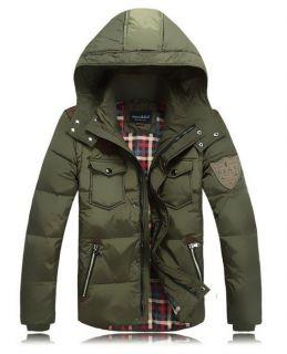 New Mens Black Duck Down Hoodie Jacket Parka Winter Warm Coat Puffa XXXL