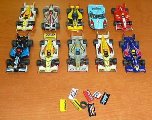 Lot of 10 AFX HO Scale Slot Cars and Accessories Parts and New