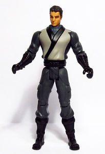 "Batman Begins Movie Dual Blade Ninja Bruce Wayne 5"" Action Figure Mattel 2005"
