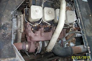 4BT 3 9L Cummins Turbo Diesel 4 Cylinder Engine with Chevy Adapters Changeover