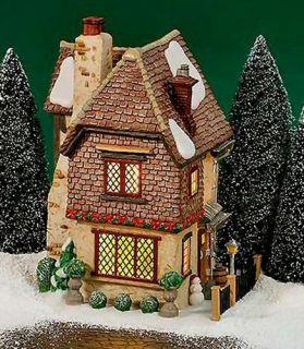 Belle's House New Department Dept 56 Dickens Village DV