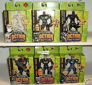G I Joe Action Figures G I Joe Action Battlers Snake Eyes Storm Shadow Conrad