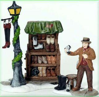 Cobbler's Corner Stand New Department Dept 56 Dickens Village D56 DV