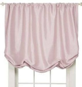 Simply Shabby Chic Faux Silk Pink Lined Window Balloon Shade New Valance Target