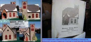 Norman Church 1399 of Limited Editon Department Dept 56 Dickens Village DV