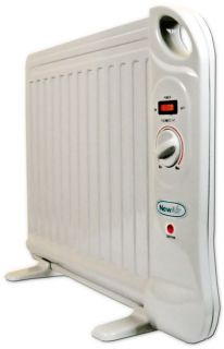 New Newair AH 400 w Best Compact Portable Electric Space Heater Oil Filled Unit