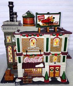 Dept 56 Coca Cola Bottling Plant