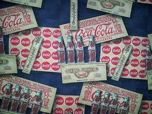 Vintage Coca Cola Bottling Co Crates Bottle Caps Coke Soda Lined Valance
