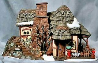 Crooked Fence Cottage New Department Dept 56 Dickens Village D56 DV