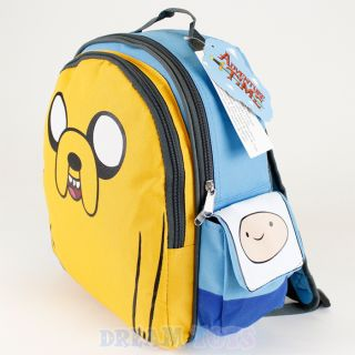 "Cartoon Network Adventure Time Jake 12"" Small Backpack Boys Girls School Bag"