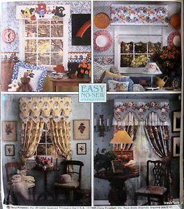 Quick Creative Cornice Patterneasy No Sew Design Window Treatment