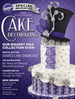 New Wilton 2014 Yearbook of Cake Decorating Ideas Book Cake Couture