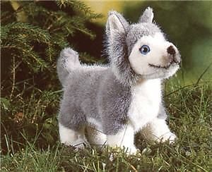 Kosen Germany Baby Husky Dog Kid Plush Animal Toy New