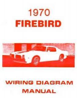 1970 Pontiac Firebird Trans Am Wiring Diagram Schematic