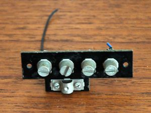 Realistic Sta 2080 Am FM Stereo Receiver Parts Antenna Terminal Assembly
