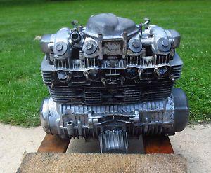 Honda 1976 CB 550 Engine Complete 4 Cylinder Cafe Racer