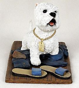 West Highland Terrier Statue Dog Figurine Home Decor Dog Products Dog Gifts