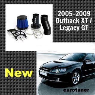 Cobb Tuning 05 09 Subaru Legacy GT Outback XT SF Intake Black Hose