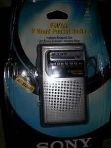 Sony Pocket Radio S10MK2 Am FM