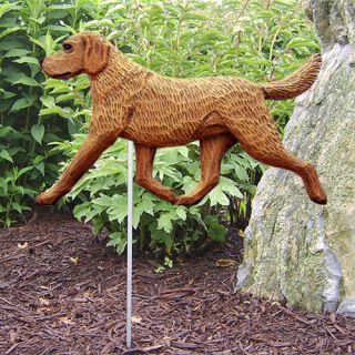Chesapeake Bay Retriever Dog Figure Garden Stake Home Yard Products Gifts
