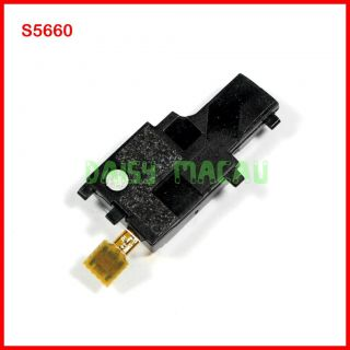 Samsung Galaxy Gio S5660 Buzzer Loud Speaker Ringer with Antenna Replacement Blk