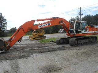 Daewoo 280LC III Hydraulic Excavator Track Hoe Crawler Loader Backhoe 5 Cat Bkt