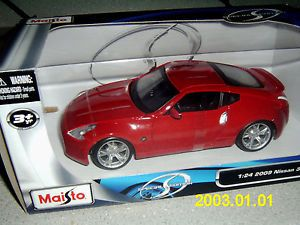 Maisto 1 24 2009 Nissan 370Z Opening Doors and Hood Special Edition New