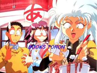 Tenchi Muyo Illustrations Vol 1 Japanese Anime Art Book