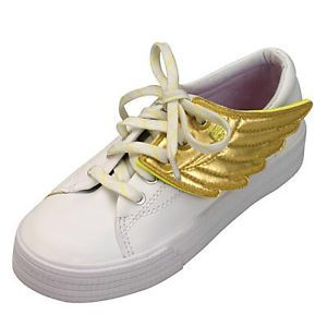 New Shwings Shoe Accessories Gold Wing Design Sneaker Apparel Any Size