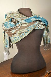Raj Women's Clothing Accessories Shawl Scarf Wrap Textile Head Shoulder India Or