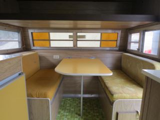 1973 Aristocrat Lo Liner Vintage Travel Trailer Antique camper RV Toaster Style