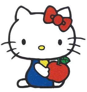 Hello Kitty Iron Transfer