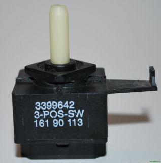 Whirlpool Dryer Switch 3399642 W10168169 30Day Warranty