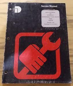 Dresser International Diesel Engines Service Manual 573 573B Series