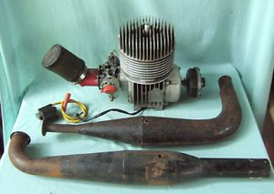 Vintage Go Kart Engine Benelli 125 CC Complete and Runs