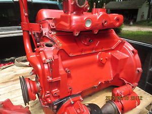 IH International Scout 800 Engine Motor 1966 COMANCHE 4 Cyclinder 90 HP Parts