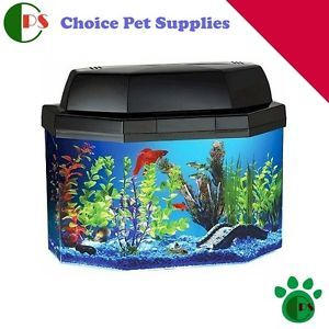 New Aqua Brite Fish Aquarium Fish Tank Choice Pet Supplies Hawkeye Good Buy Kids