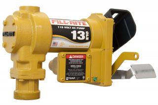 Tuthill Fill Rite SD602G Electric Fuel Transfer Pump 115 Volt AC 13 GPM