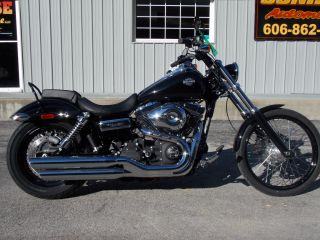 2013 Harley Davidson Dyna Wide Glide 394 Actual Miles Factory Warranty