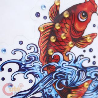 Ed Hardy Koi Cling Decal Sticker Car Auto Accessories