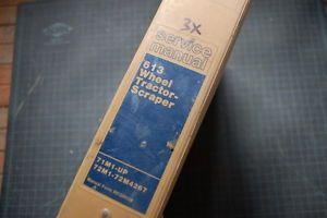 Cat Caterpillar 613 Scraper Repair Shop Service Manual Engine Overhaul Book