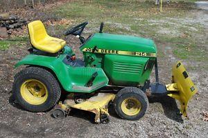 John Deere Lawn Tractor Snow Gravel Blade Only