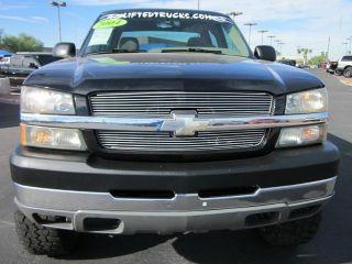 2004 Chevrolet 2500 Silverado Chevy Crew Cab 4x4 Fabtech Lifted Truck Low Miles