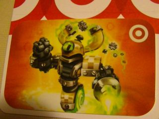 Target Skylanders Gift Card No $$ Value