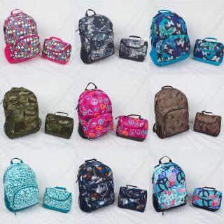 Girls Backpack And Lunchbox   Cg Backpacks