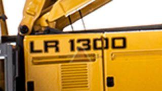 Liebherr LR1300 Lattice Boom Crawler Crane in 1 50 Scale by NZG